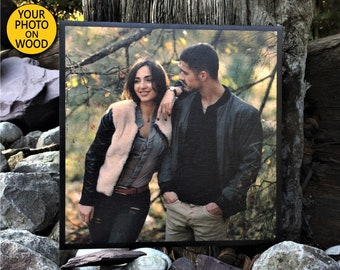 Boyfriend Gift For Birthday Ideas 2nd Anniversary Gifts Long Distance Wood Photo