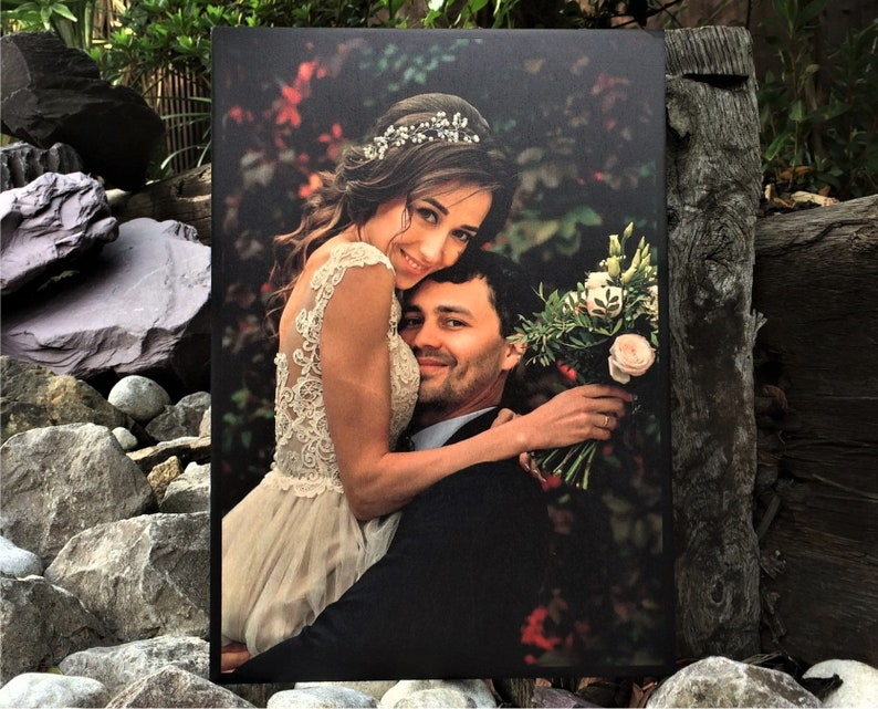 Unique Wedding Gift for Couple Gift Picture on Wood Picture Frame Wedding Picture Gifts for Couples 5th Anniversary Gifts 5 Year Anniversary