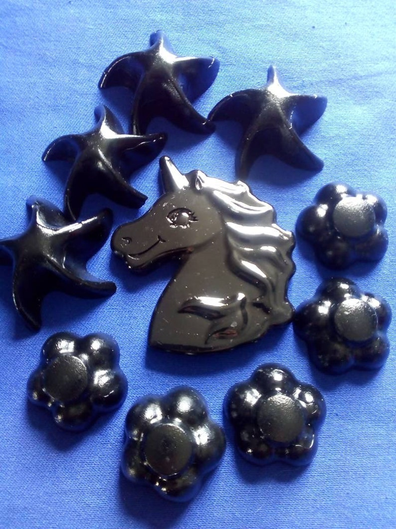 SHUNGITE MAGNETS Shungite infused with silver with Rare image 0