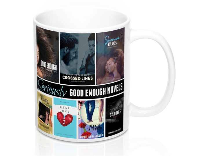 "Good Enough Novels ""All Covers"" 11Oz Mug"