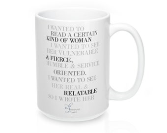 "Good Enough Novels ""All The Smart Words"" 15Oz Mug"