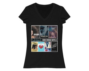 "Womens ""All Covers"" VNeck Tee"