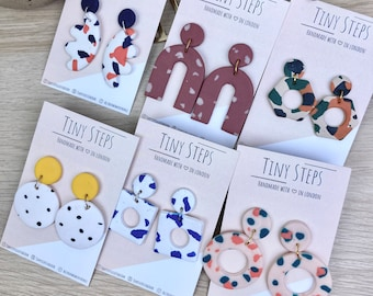 Lucky Dip Mystery dangles polymer clay earrings