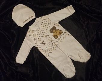 Louis Vuitton Baby Clothes Etsy