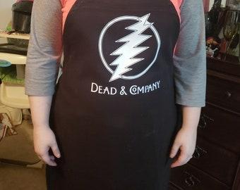 baf7efdd1cb grateful dead and company professional chef cooks apron