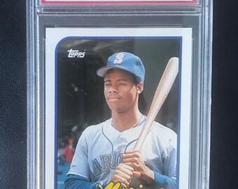 53c0a60458 1989 Topps Traded Ken Griffey Jr #41T Mint 9