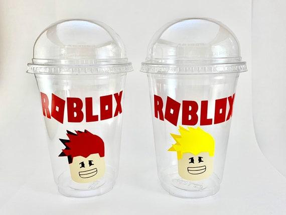 Roblox Birthday Partyroblox Decorationboy Robloxroblox Cuproblox Birthdayroblox Party Favorboy Party Favorgirl Robloxroblox Cupcup - roblox tumbler