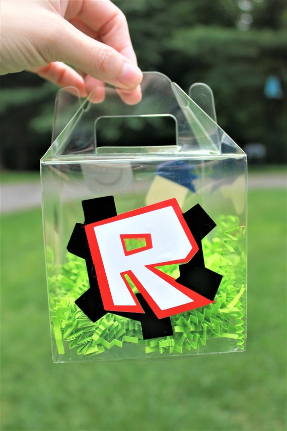 Roblox Birthday Party Roblox Party Bag Roblox Party Etsy