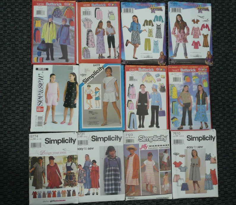 McCall/'s 3941 Boys/' and Girls/' Costumes    8 10  Sewing Pattern