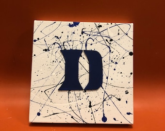 huge discount 656b4 002b0 Duke University 6x6 Canvas- Custom Options Available