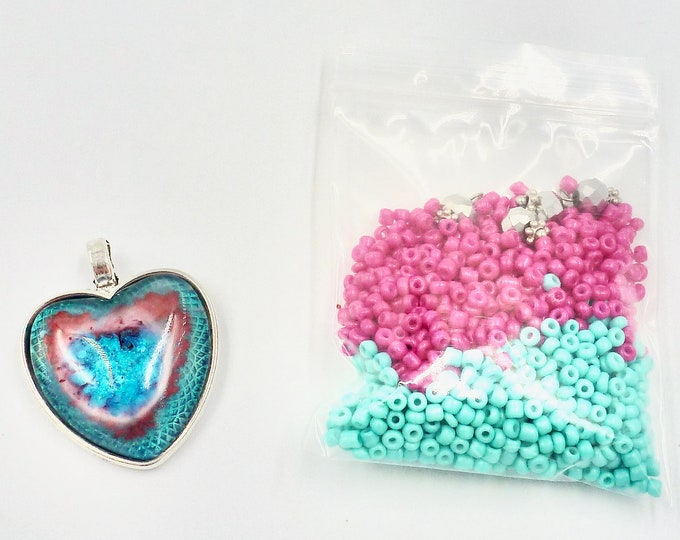 Heart Bead Kit