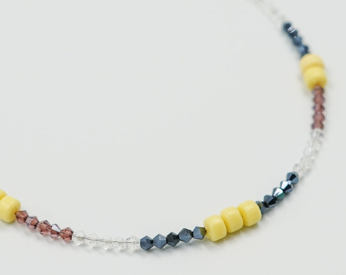 Beaded Necklace for Women, Beaded Necklaces, Minimalist Beaded Necklace, Gifts for Her, LaurenJayDesigns, Beaded Jewellery, Christmas Gifts
