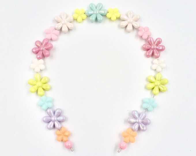Pastel Floral Hair Band