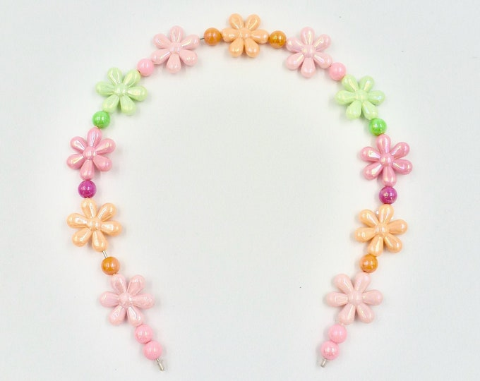 Bright Floral Hair Band