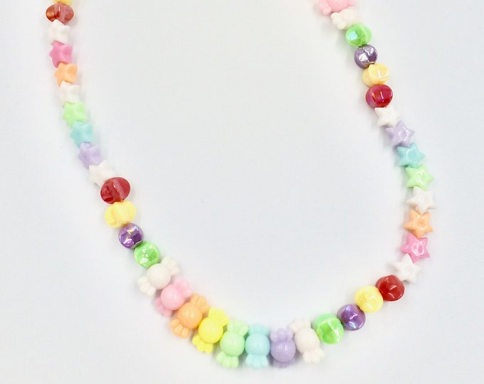 Star Candy Beaded Necklace