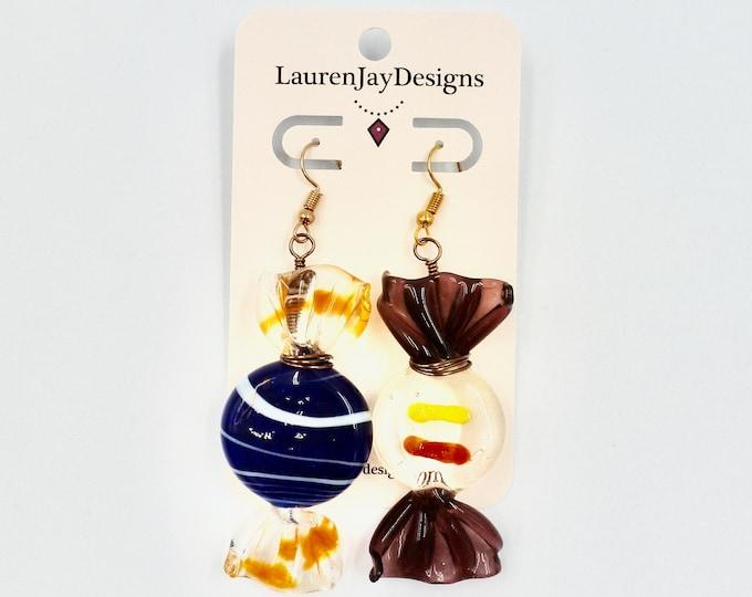 Glass Candy Earrings