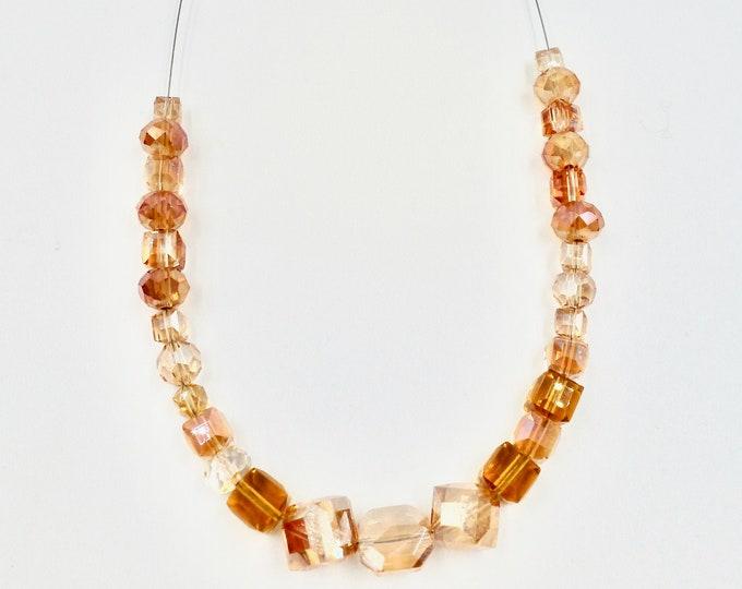 Orange Crush Beaded Necklace