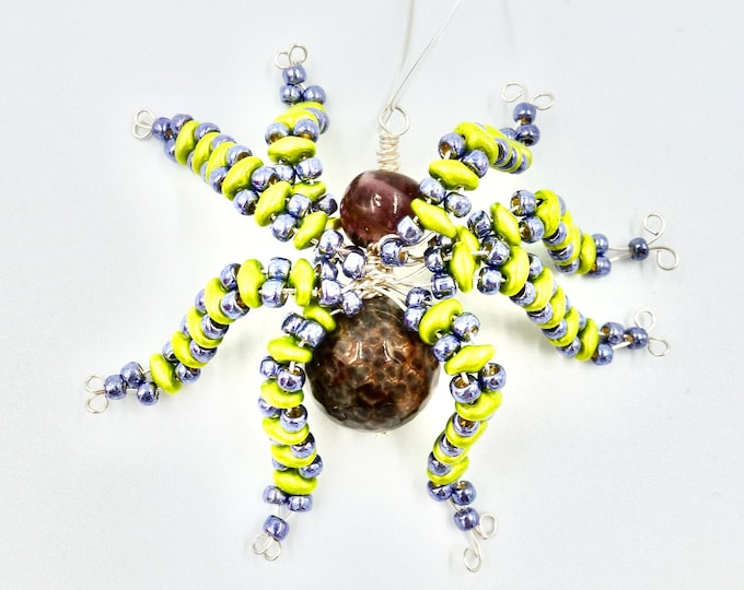 Brown Spider Ornament
