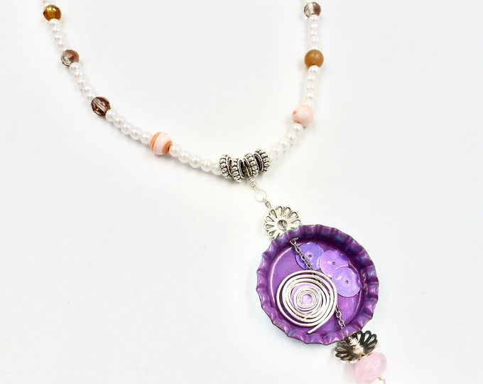 Pearl Fashionista Beaded Necklace