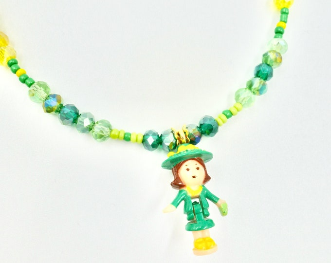 Green Polly Pocket Necklace