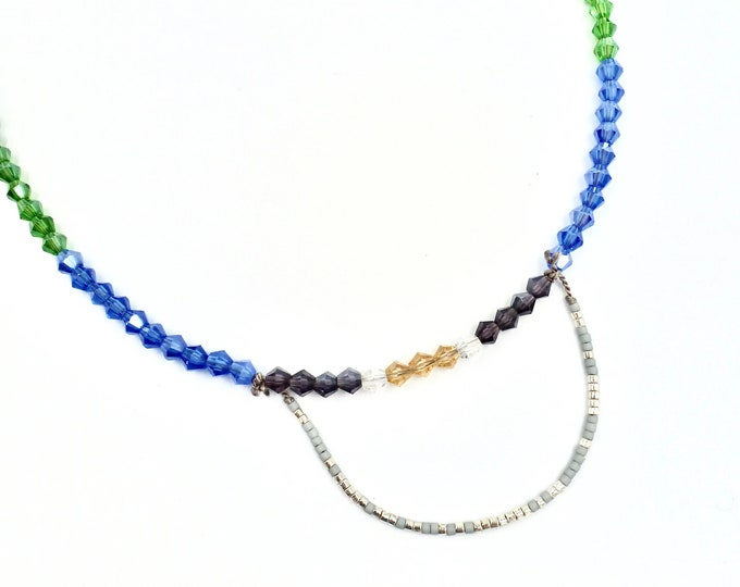 Morse Code Beaded Necklace