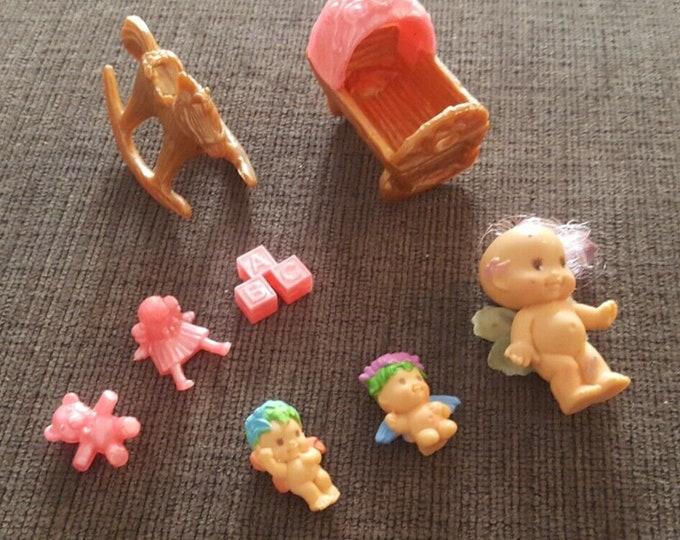 Vintage 1993 Fairy Winkles Twinkle Time Nursery Clock Dolls, Vintage Toys, Fairy Winkles, Fairy Toy, Fairy Winkles Accessories, Vintage Gift