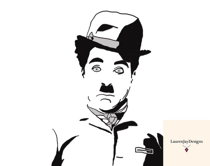 Charlie Chaplin Printable