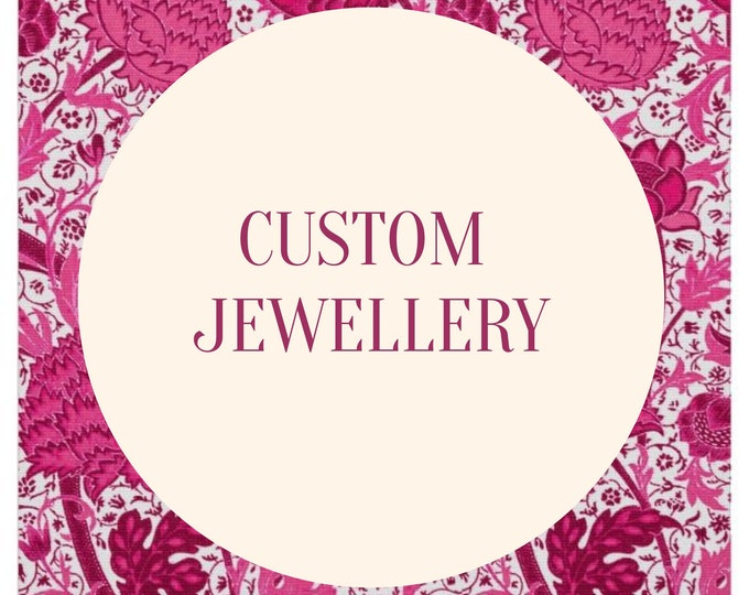 Custom Jewelry, Design Your Own Jewelry, Customised Jewelry, Personalized Jewelry, Custom Necklaces, Custom Bracelets, Custom Earrings