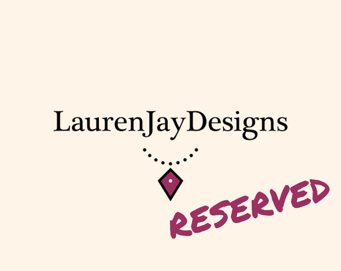 Reserved for Yaritza