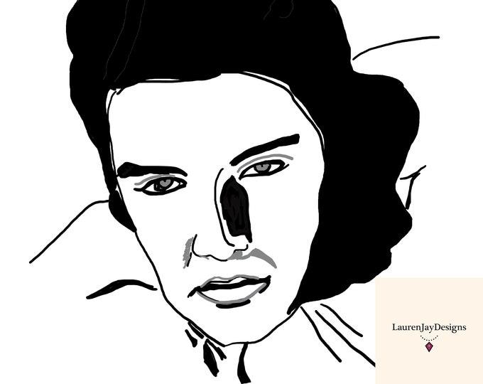 Elvis Printable