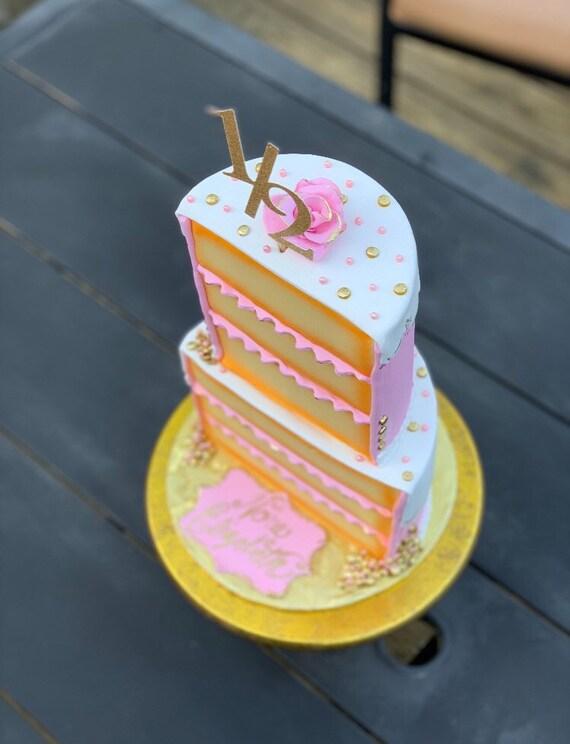 Pleasant Half Birthday Cake Topper 1 2 Birthday Cake Topper 6 Months Etsy Funny Birthday Cards Online Aboleapandamsfinfo