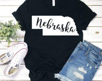 Nebraska State Shirt  8a9565bc6