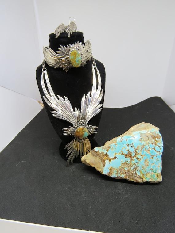 3 Piece Boulder Turquoise Set