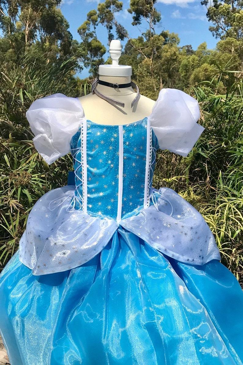 princess gown Cinderella Dress Princess dress Princess costume Disney trip princess halloween costume birthday dress