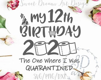 12th Birthday Svg Etsy