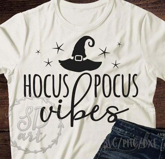 Hocus Pocus Vibes Svg File Halloween Svg Witch Hat Svg Etsy