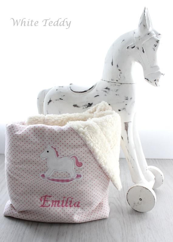 Manta de bebé personalizada Suave Hermoso Rosa Grande Oso De Peluche De Adorno Regalo