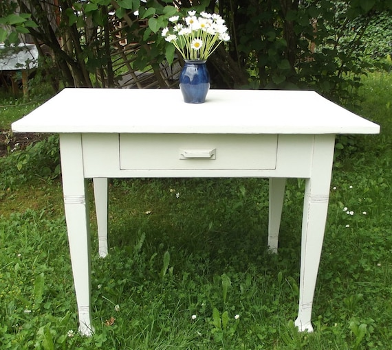 Table Kitchen Table Dining Table Antique Country House Vintage