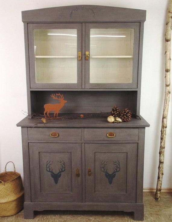 Buffet-Kitchen Cabinet-Kitchen buffet-Wardrobe-Country House-Vintage-Retro