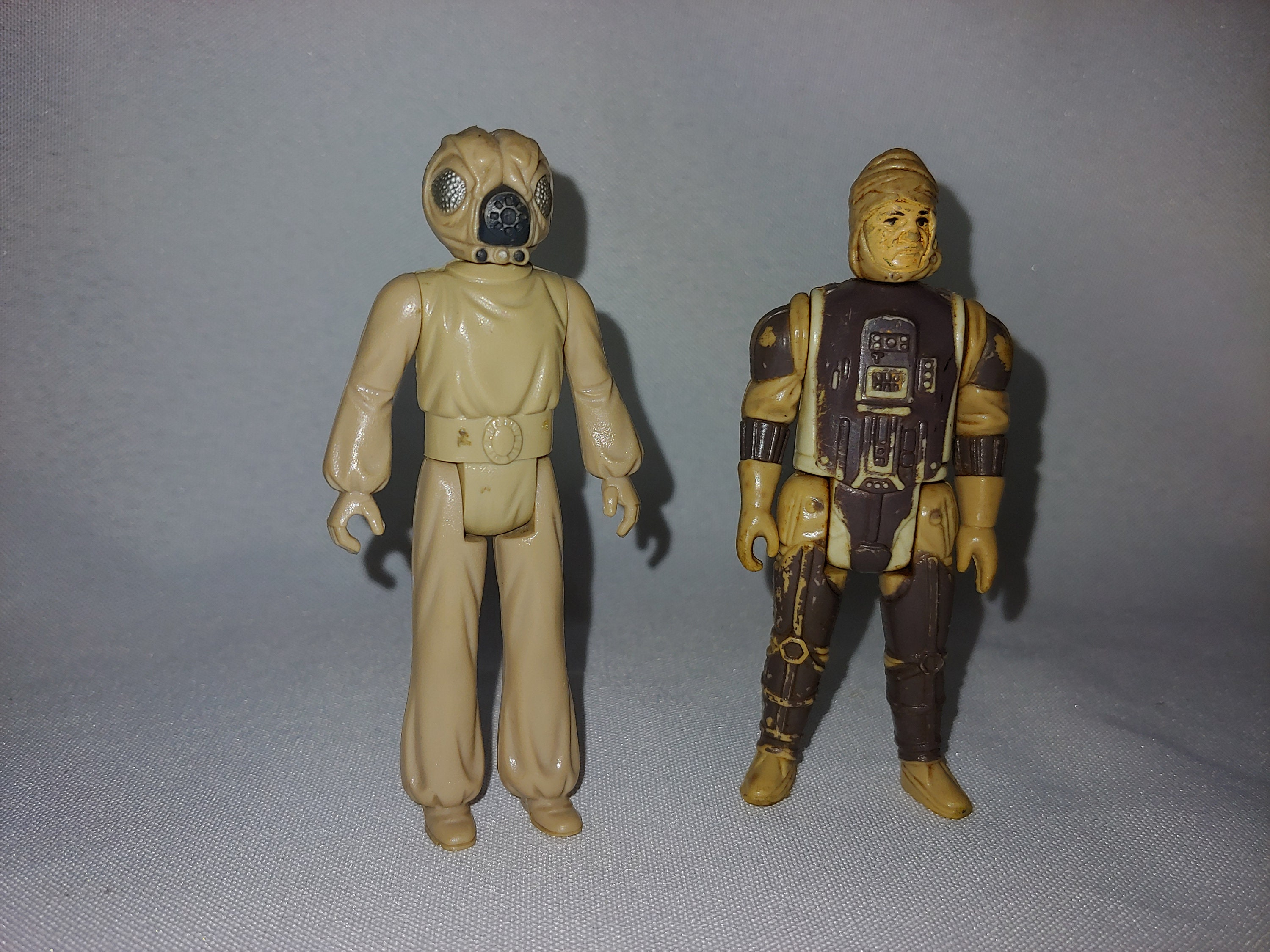 C Please see photos Very good condition Vintage Star Wars Figures