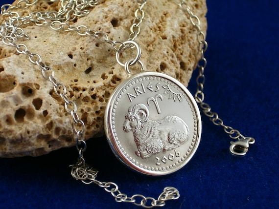 Neu Silberanhänger Sternzeichen 925 Sterling Silber WIDDER