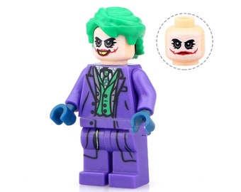 Tatouage Joker Etsy