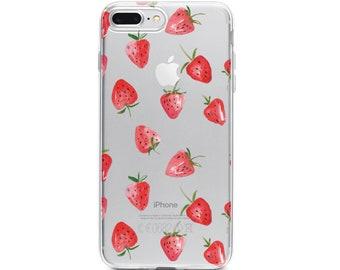 iphone 8 case straeberry