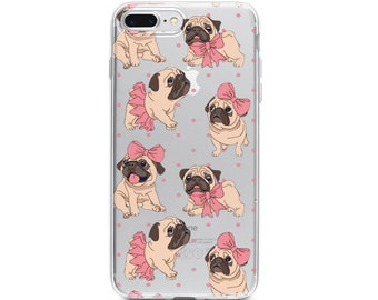 info for 553ed c27cc Pug iphone case | Etsy