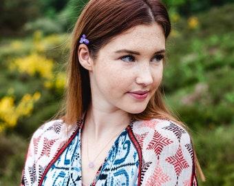 Necklace - Chalcedon lavender - SUMMER FAVOURITE