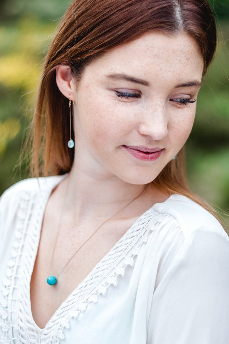 Necklace  Turquoise  SUMMER LIEBLING image 0