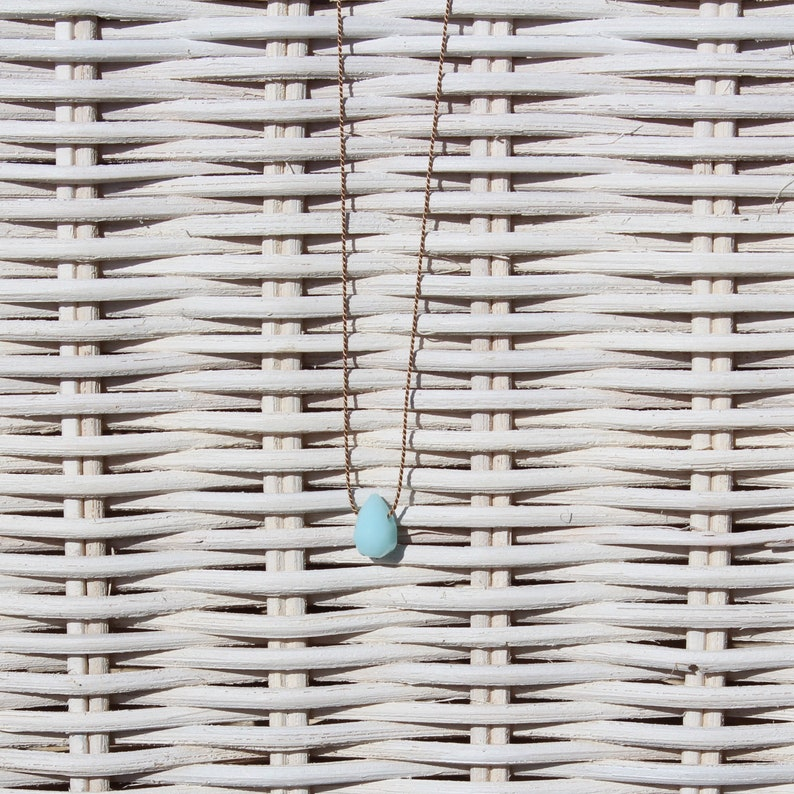 Necklace  Amazonite mini  SUMMER LIEBLING image 0