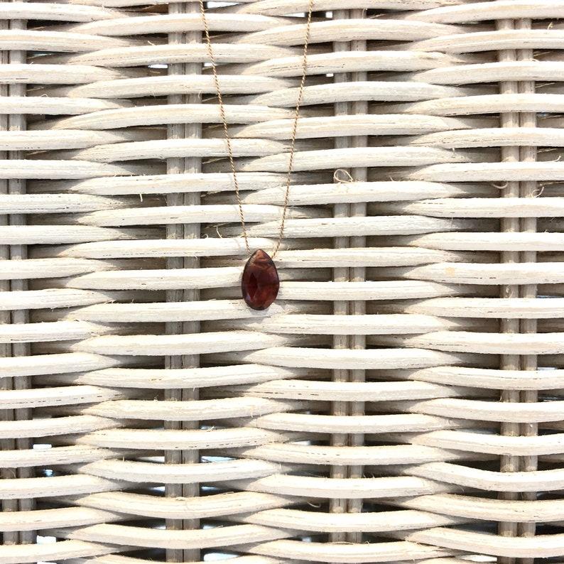 Necklace Garnet  SUMMER LIEBLING image 0