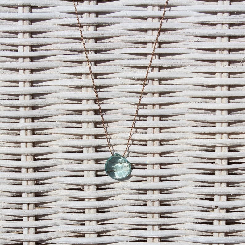 Necklace-Aquamarine-Summer Darling image 0