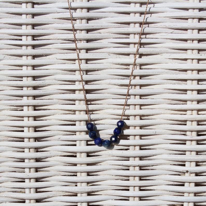 Necklace  Lapis lazuli  SUMMER LIEBLING image 0